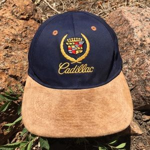 Vintage 90s Cadillac Adjustable Hat
